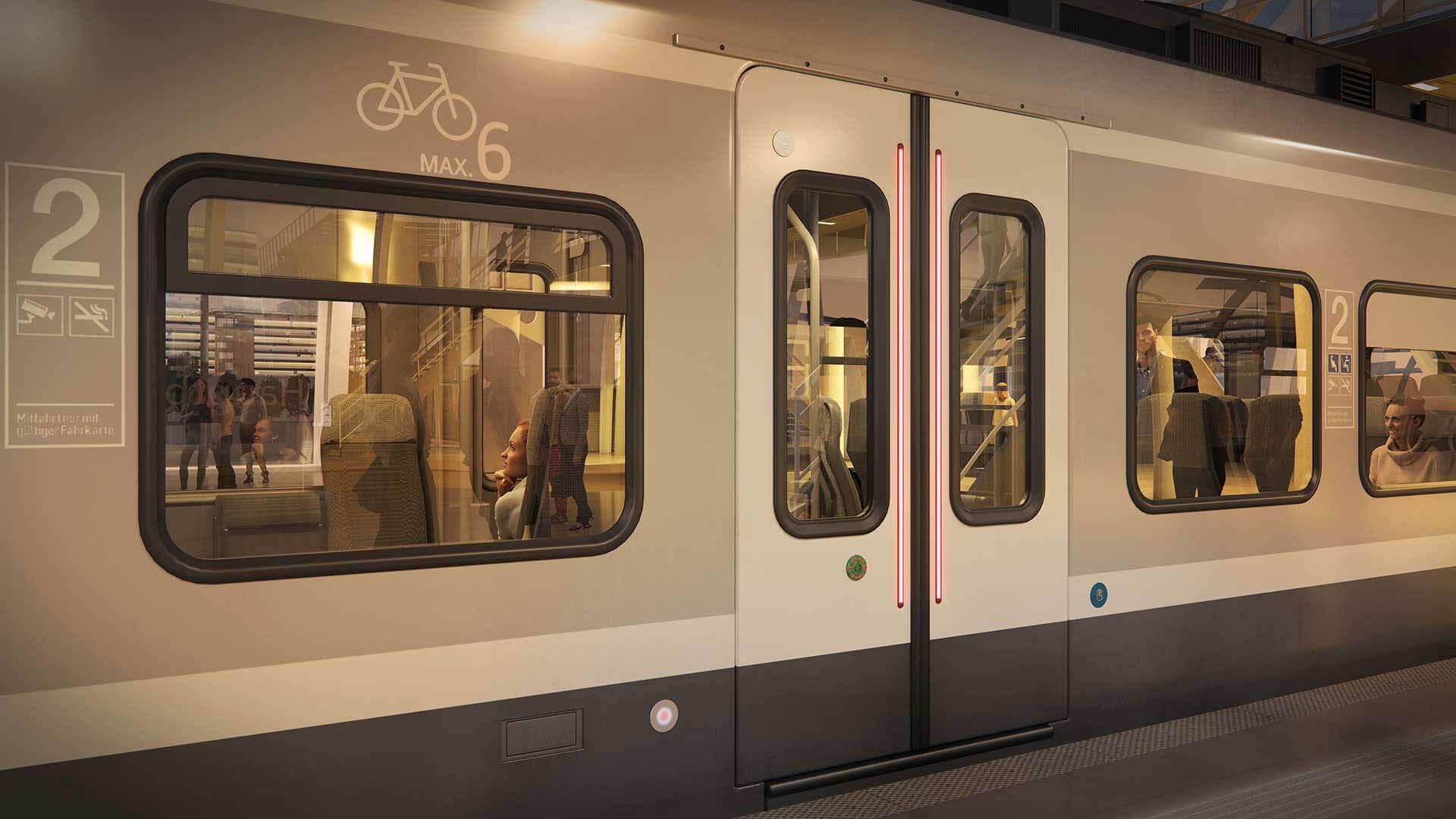 Anwendungsbereich Bahn Türeinstieg aussen