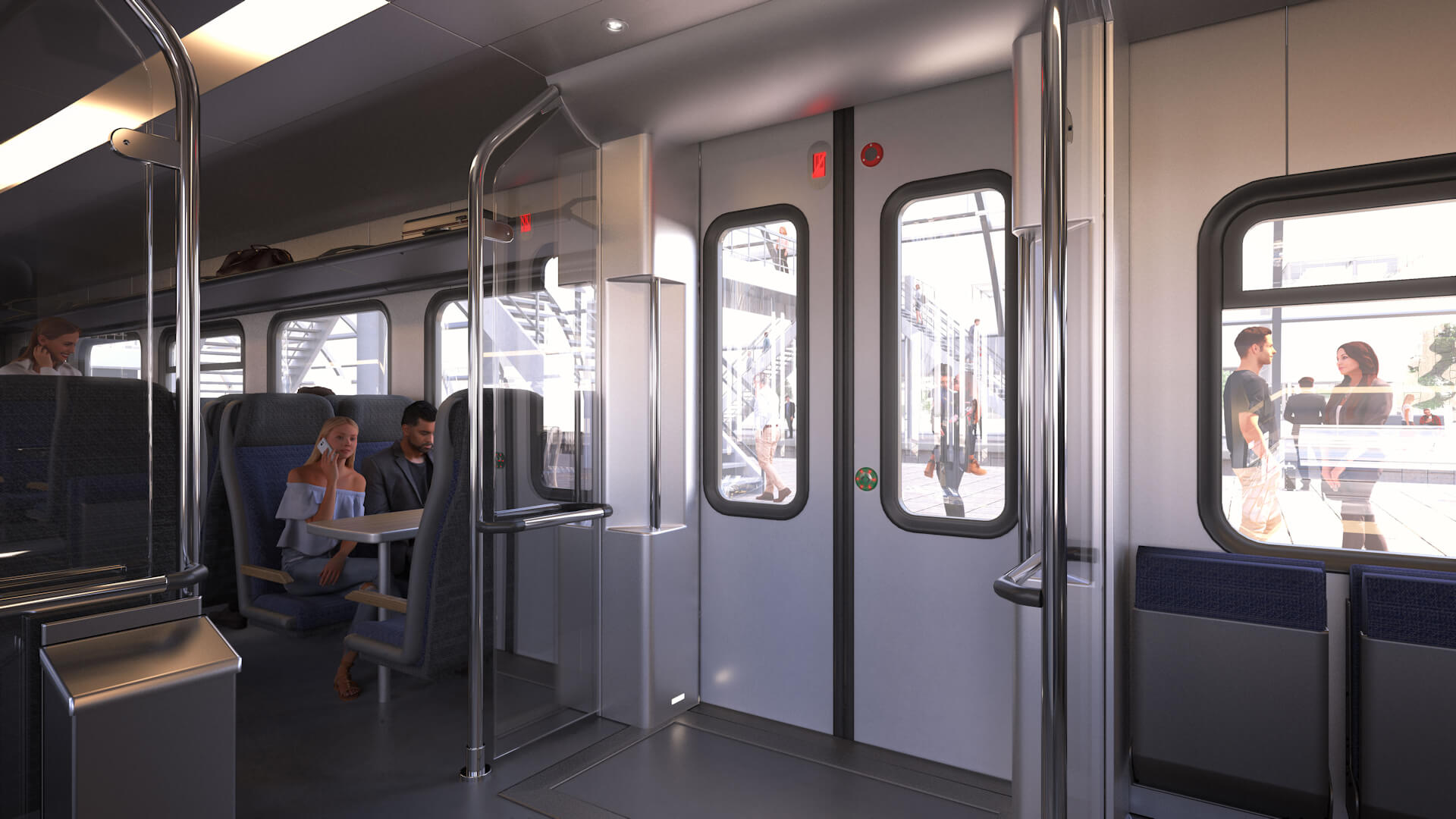 Anwendungsbereich Bahn Türeinstieg Innen