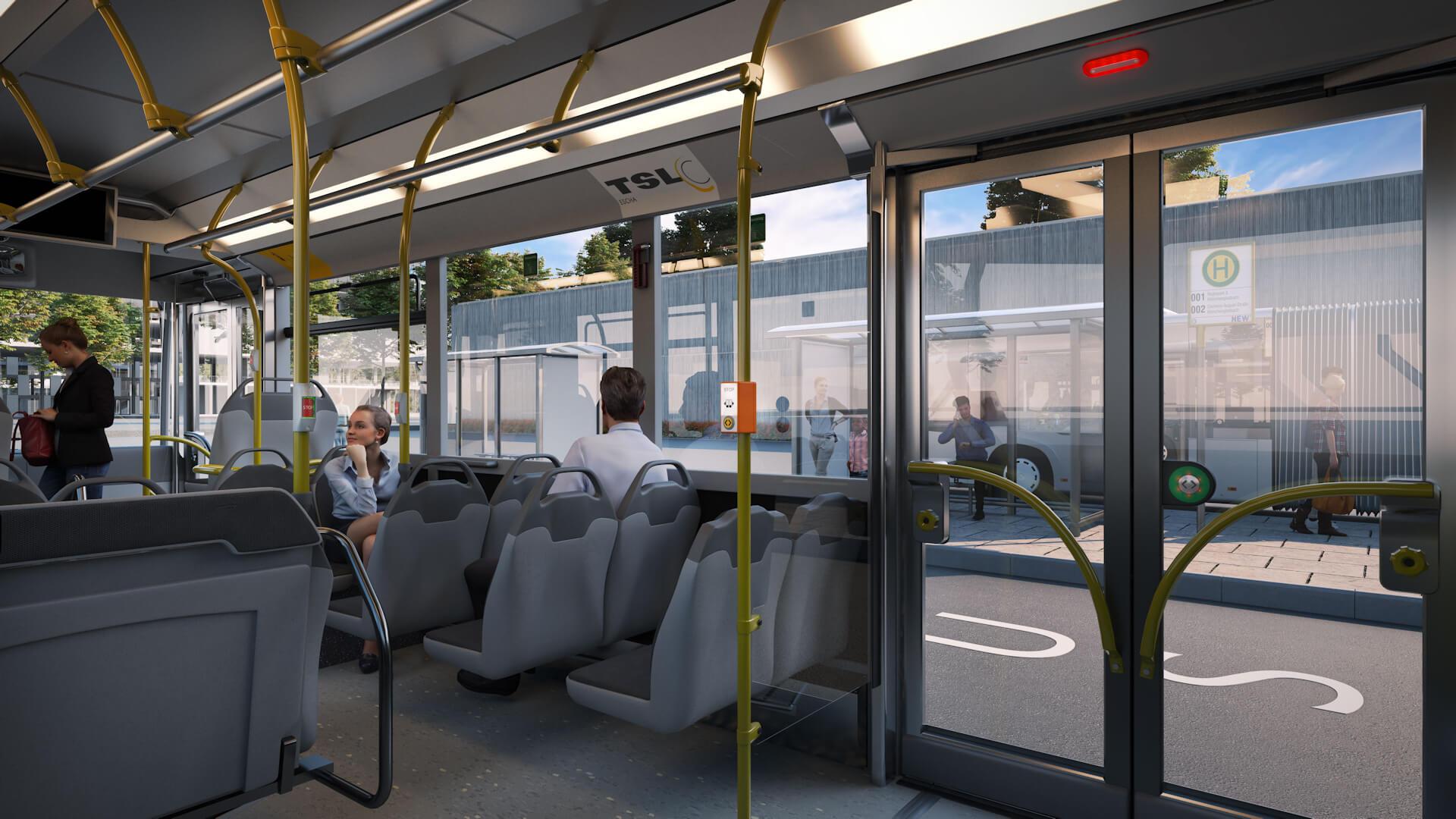 Anwendungsbereich Bus Innen
