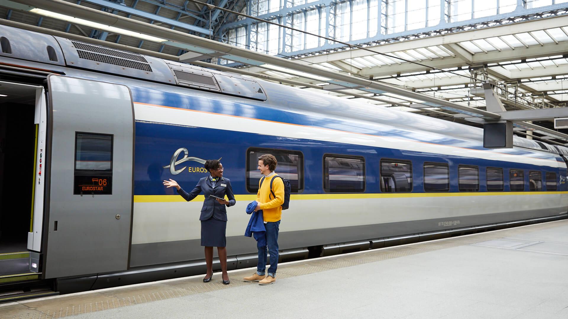 Eurostar 320 Einstieg Taster TSL
