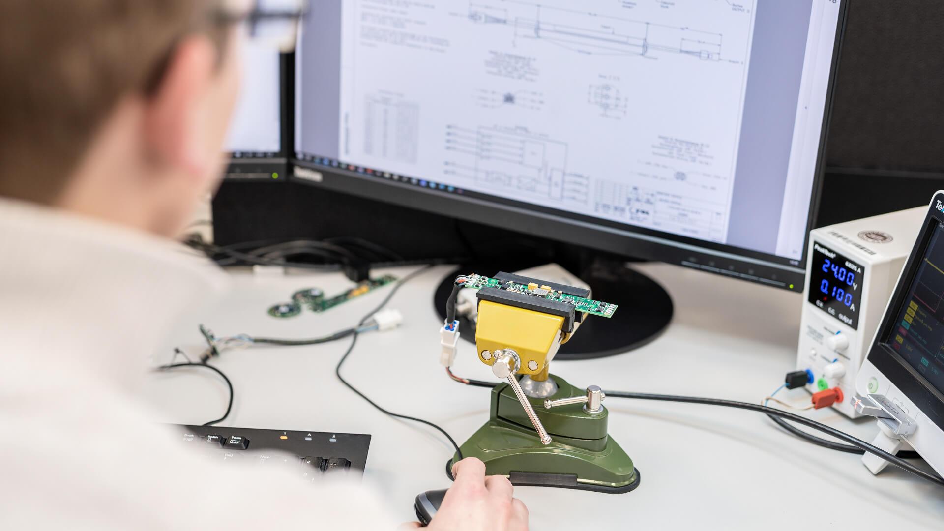 Elektronik-Entwicklungsabteilung der TSL-ESCHA