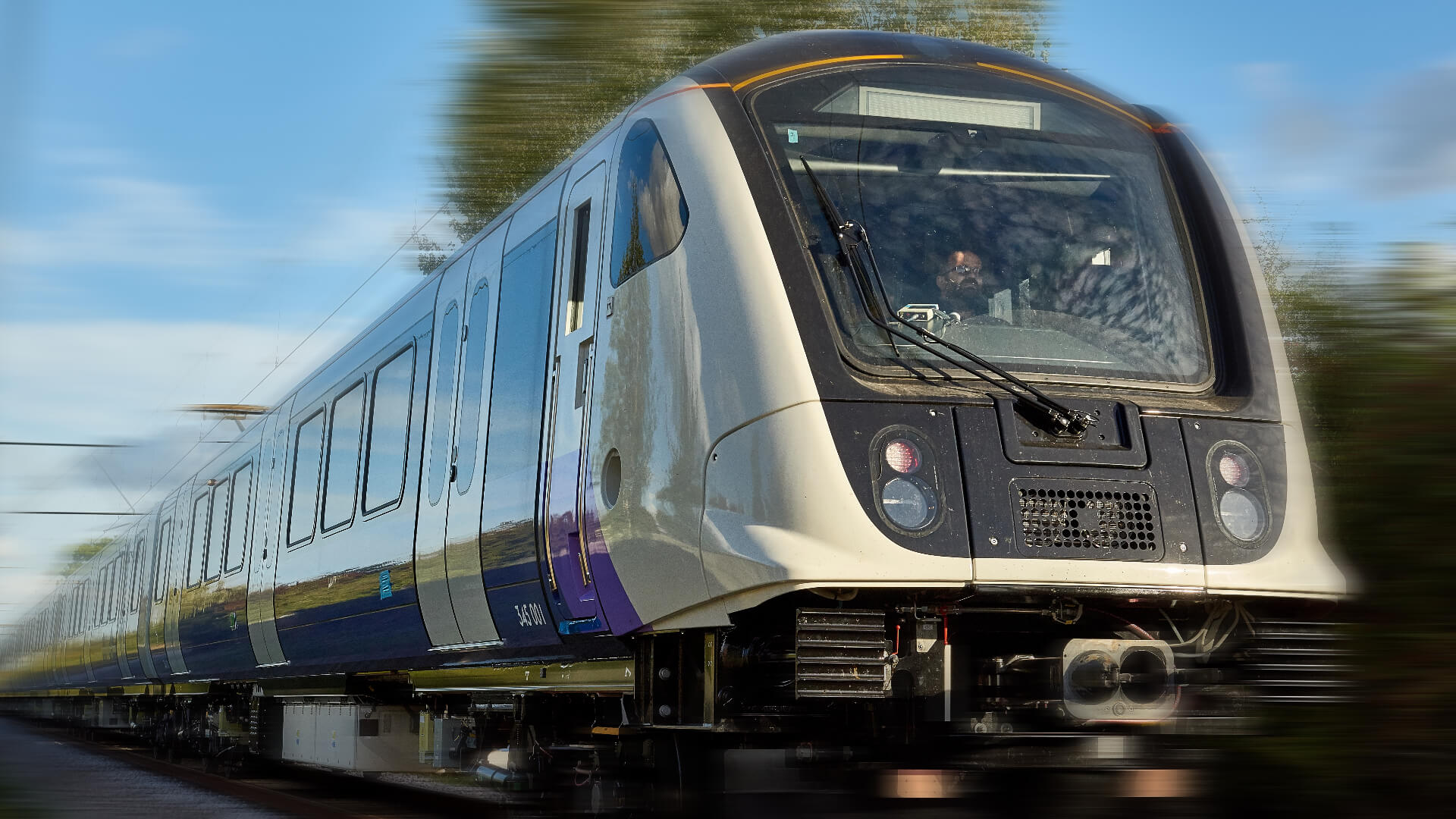 London Crossrail Meldeleuchte Warntongeber TSL