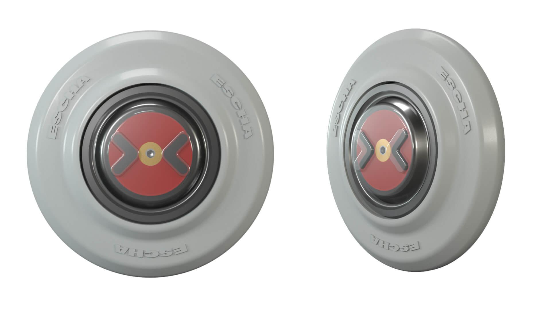 PK27-S Türöffnungstaster TSL grau