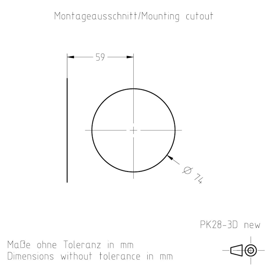 Montageausschnitt PK28-3 TSL-ESCHA