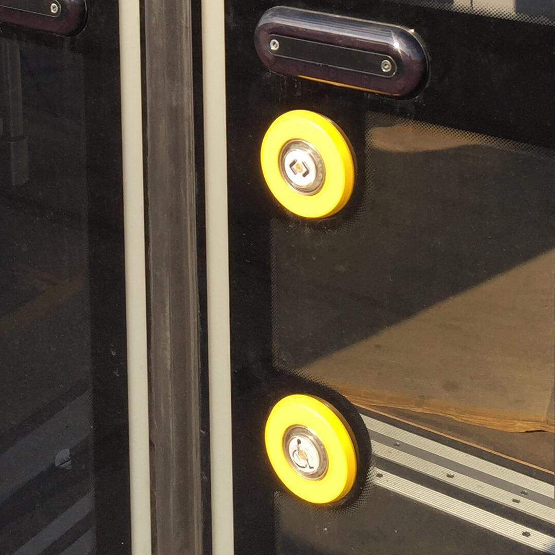 PK28-S Taster zur Türöffnung und mit Rollstuhl-Piktogramm