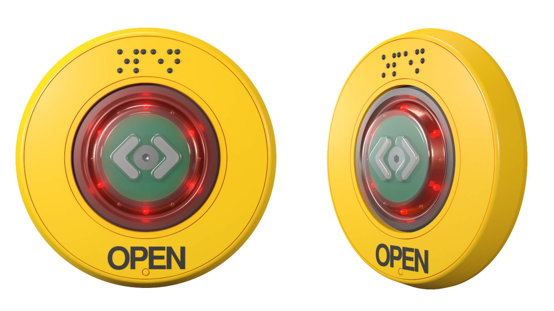PK29-s Türöffnungstaster TSL gelb