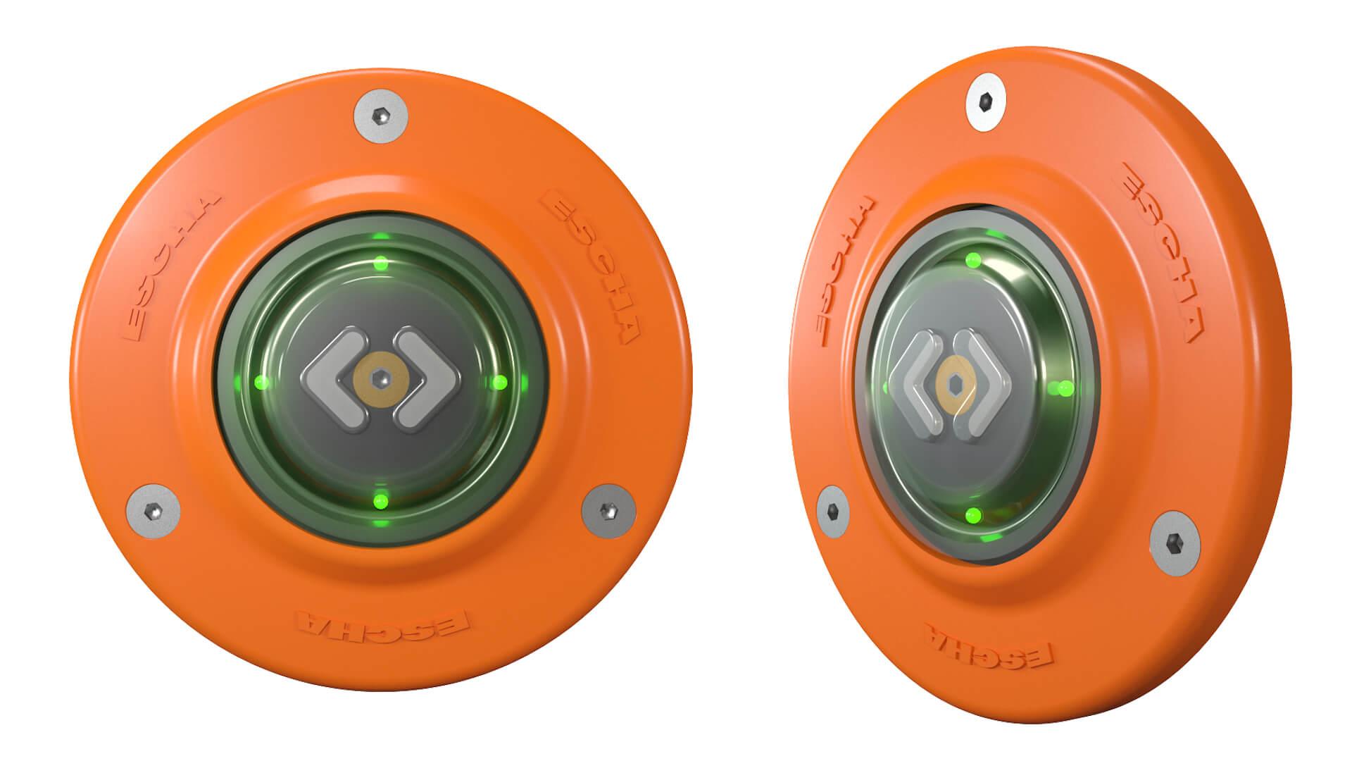 PK41 Türöffnungstaster TSL orange