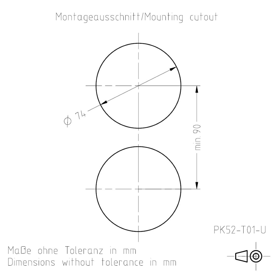 Montageausschnitt PK52