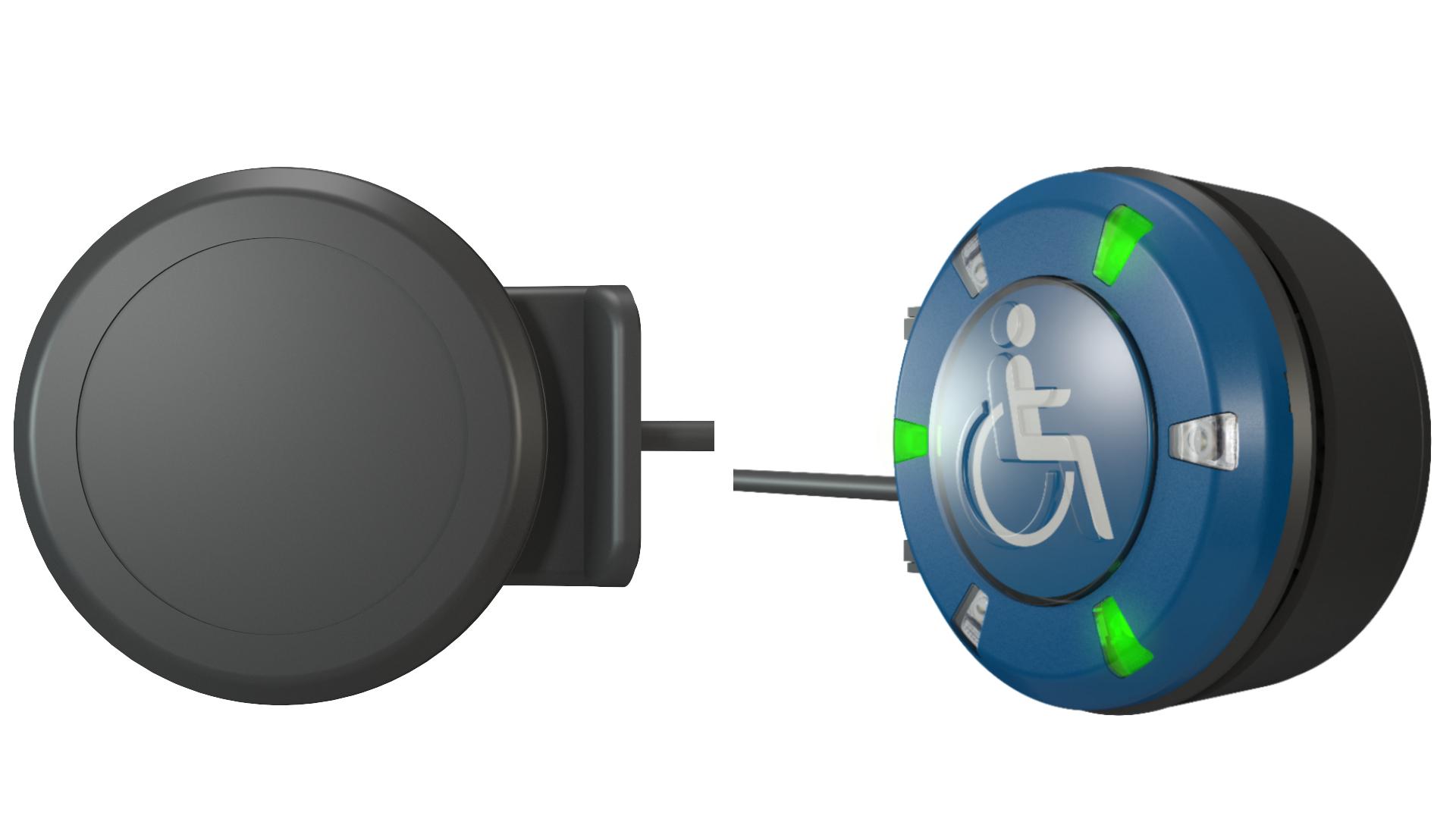 PK52 Taster mit einseitiger Funktion und Blindabdeckung