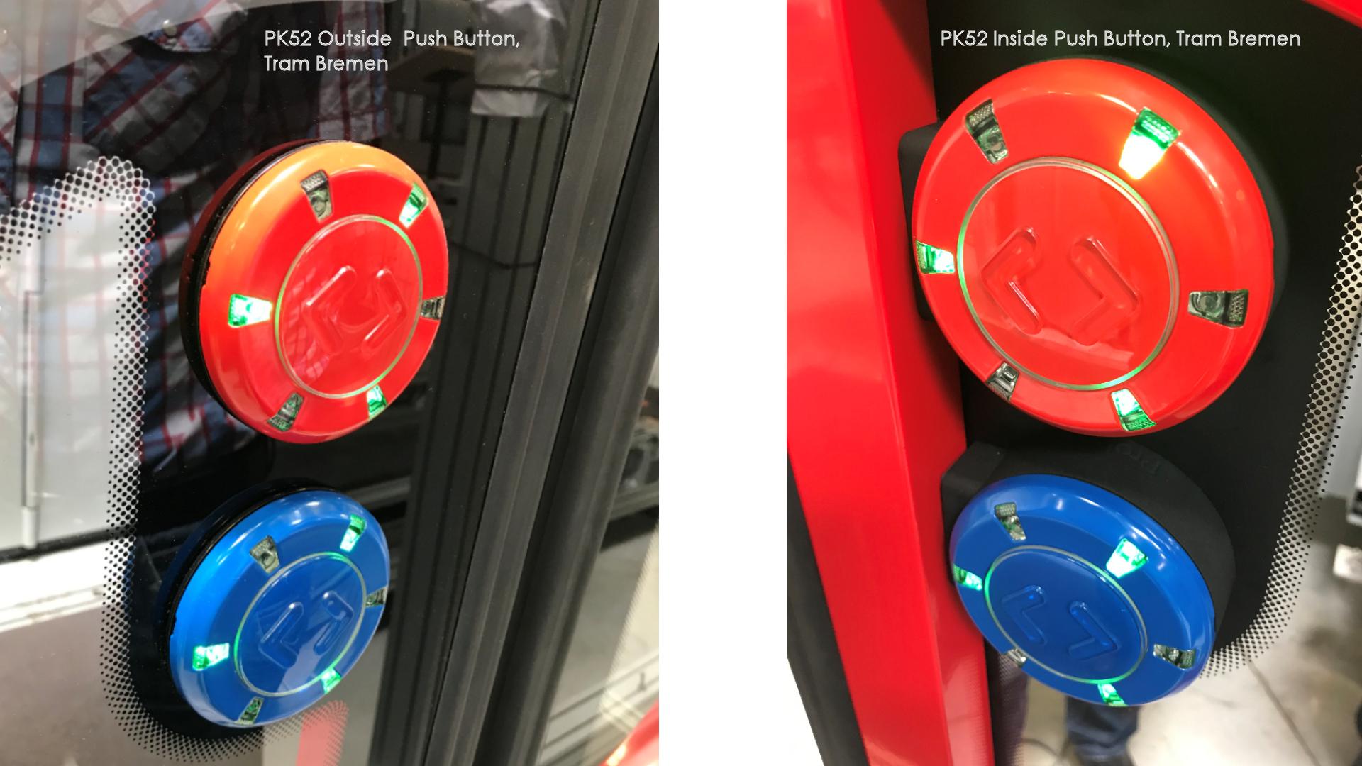 PK52 Push Button Tram in Bremen
