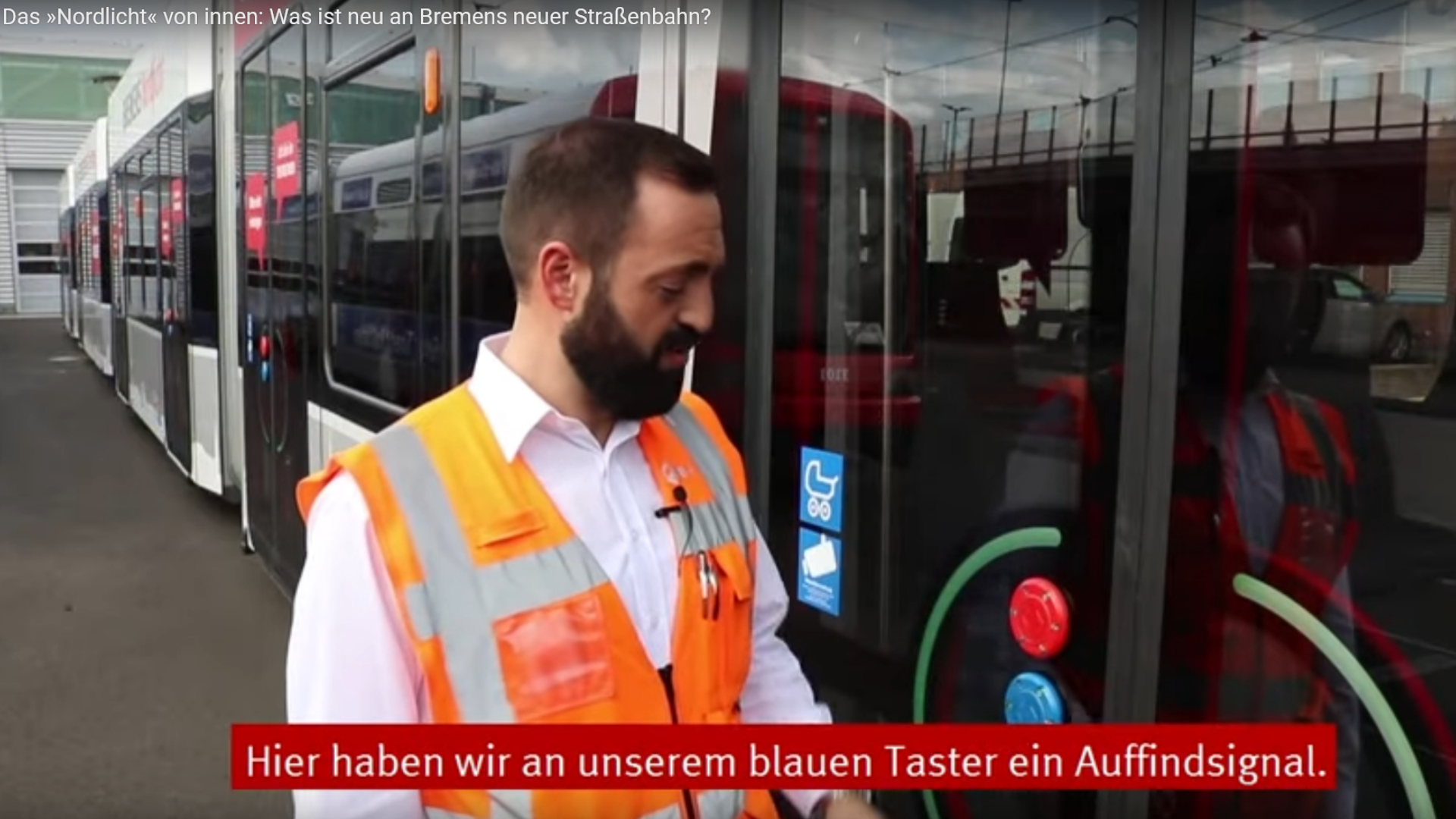 PK52 Taster Strassenbahn Bremen