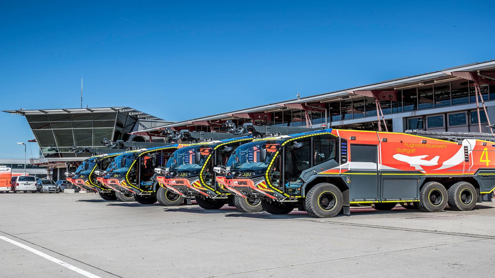 PK52 Taster von TSL für Flughafenfeuerwehr Stuttgart