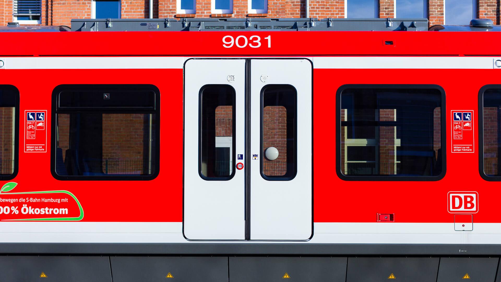 PK52 Taster in ET490 Zug in Hamburg