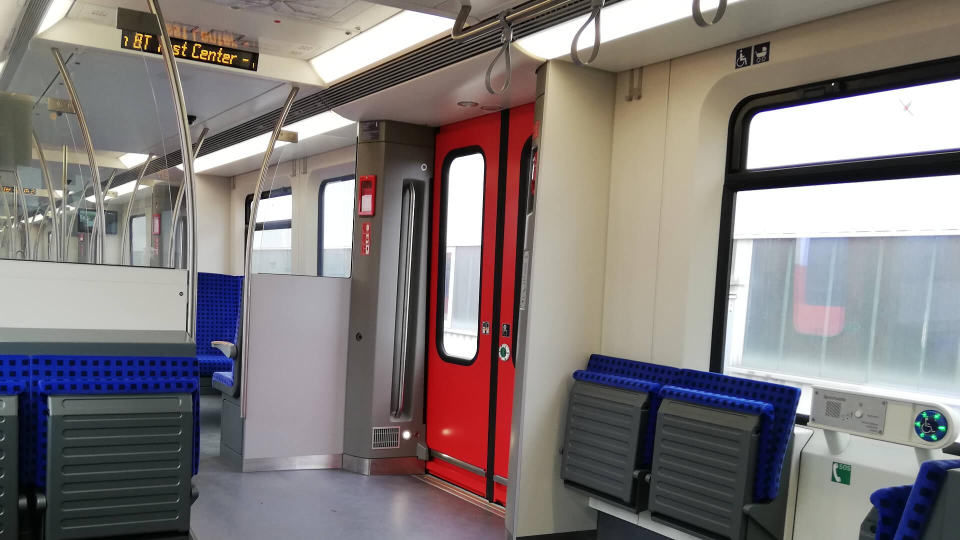 Presskey 52 Taster ermöglichen PRM die Fahrt mit der S-Bahn