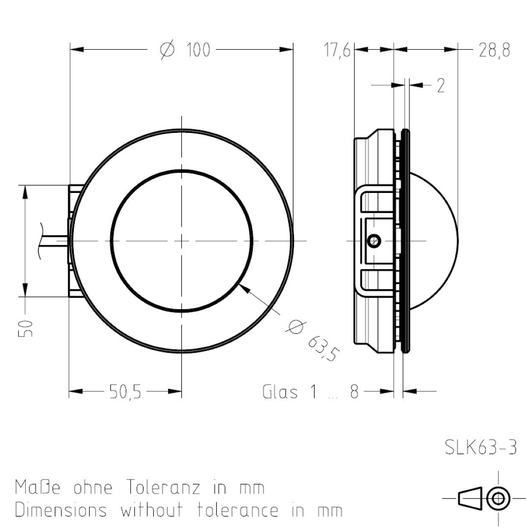 Signalleuchte SLK63 TSL-ESCHA