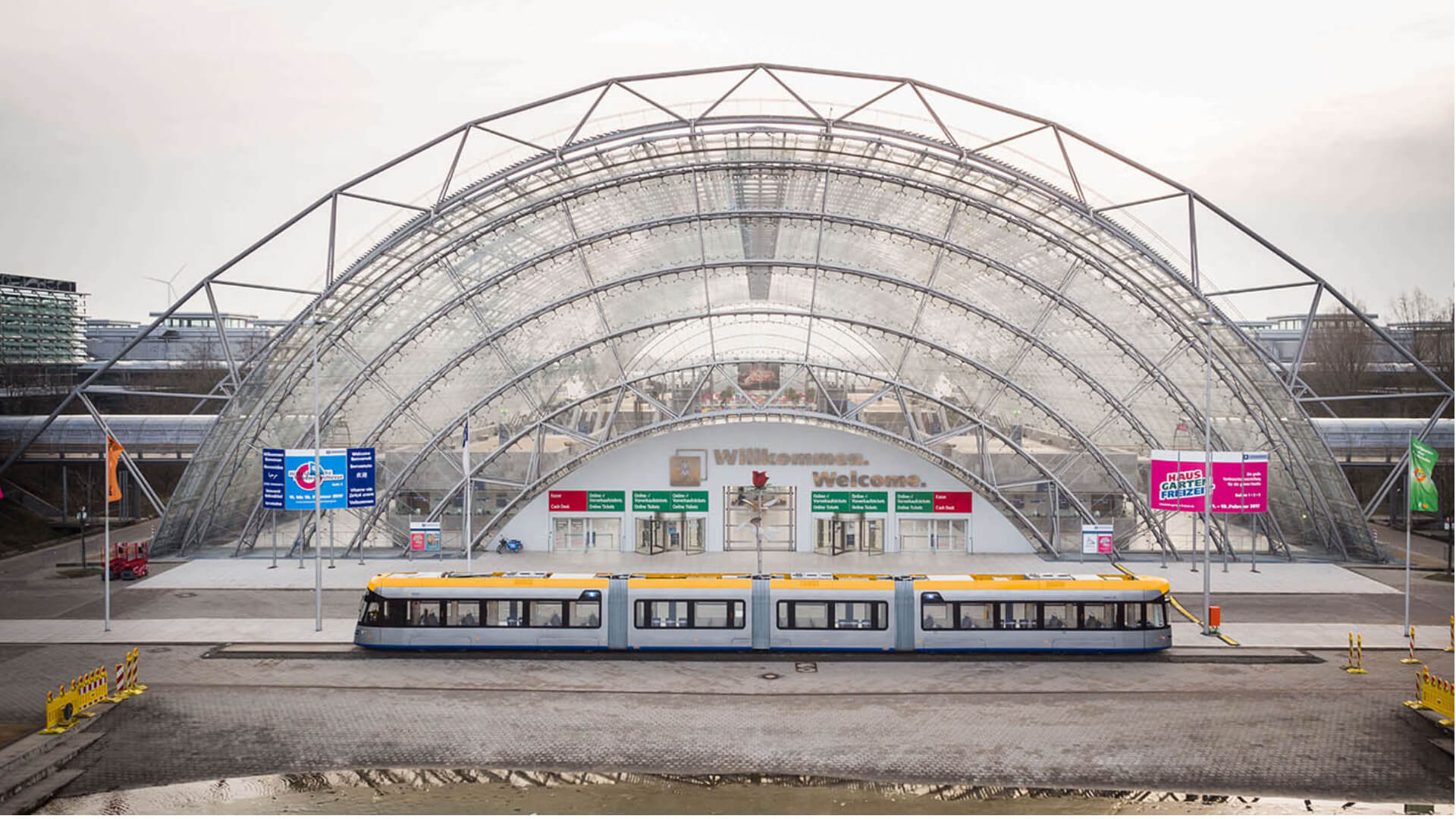Tram Leipzig Bahnhof TSL