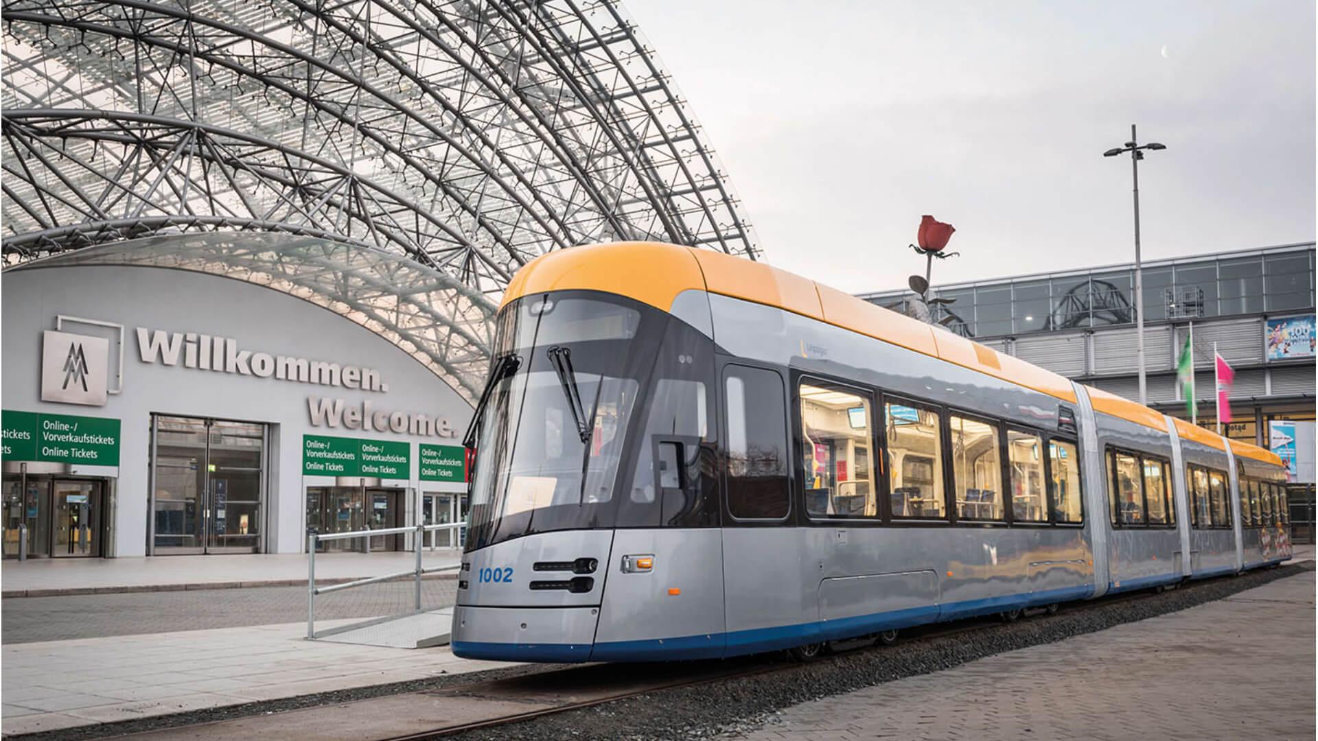 Tram Leipzig Taster PK52 Leuchtstreifen TSL