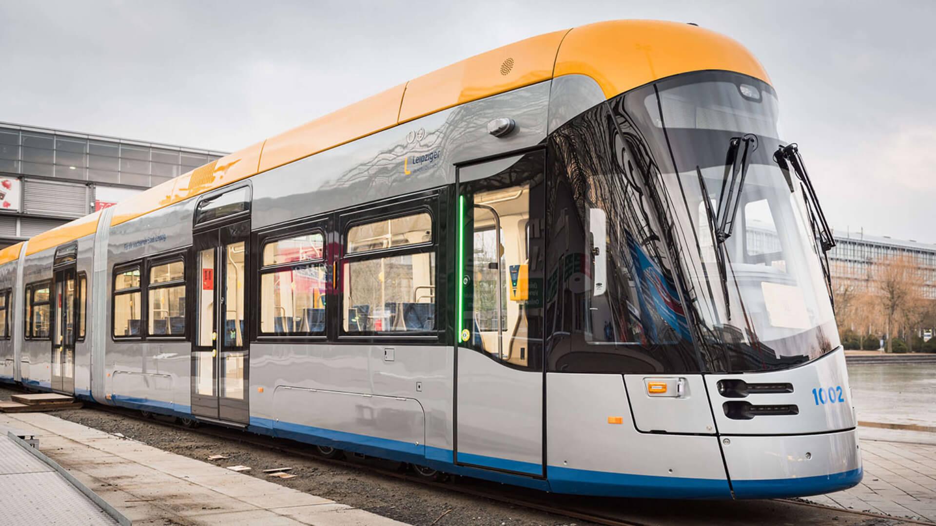 Tram Leipzig Taster PK52 Leuchtstreifen LS TSL