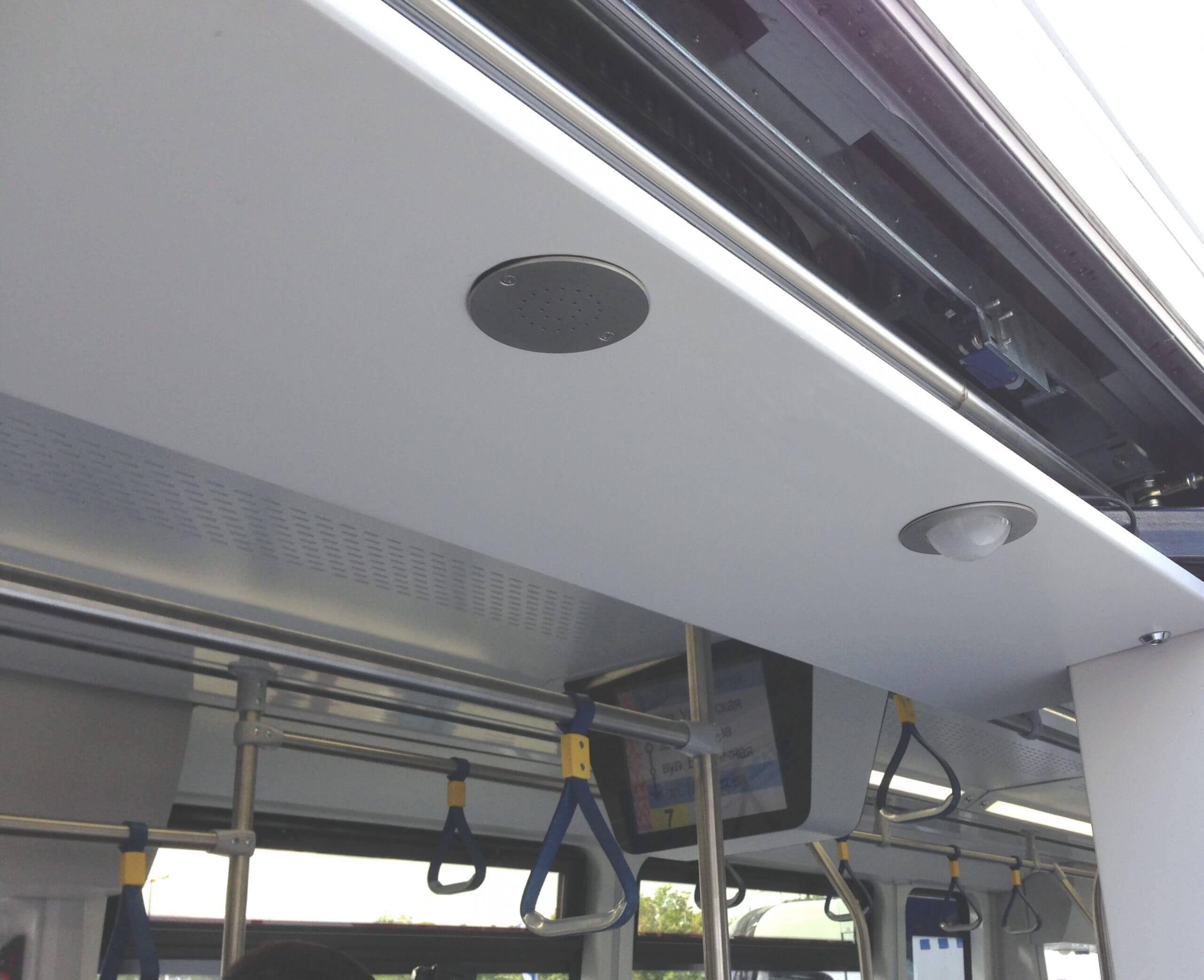 Warntongeber WM87 der TSL mit PK52 in der Bahntür